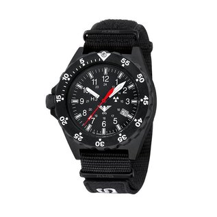KHS Tactical Watches Herren Armbanduhr Shooter | Natoband X|TAC Black