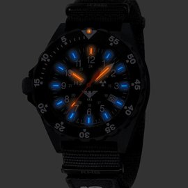 KHS Tactical Watches Shooter | Natoband X|TAC Black