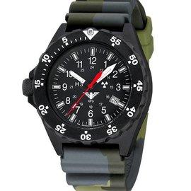 KHS Tactical Watches Uhren | Militäruhren Shooter | Diverband Camouflage Olive
