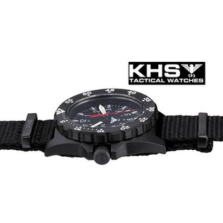 KHS Tactical Watches KHS Uhren | Militäruhr Shooter | Diverband Camouflage Tan