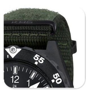 KHS Tactical Watches Shooter | Natostrap X | TAC Oliv