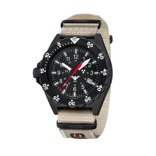 KHS Tactical Watches KHS H3 Militäruhr Shooter | Natoband X|TAC Tan