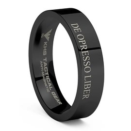 KHS Tactical Watches Wolframcarbit Ring Black DOL