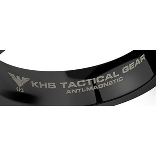 KHS Tactical Watches Wolframcarbit Ring Black Black Eagle
