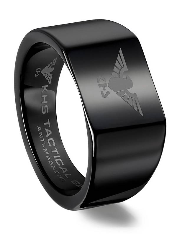 Military Tungsten Rings