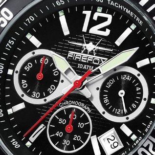 Firefox Watches  SILVER SURFER Chronograph Fliegeruhr Herrenuhr