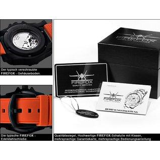Firefox Watches  Automatik Sportuhr Herrenuhr Orange Kaliber 8215