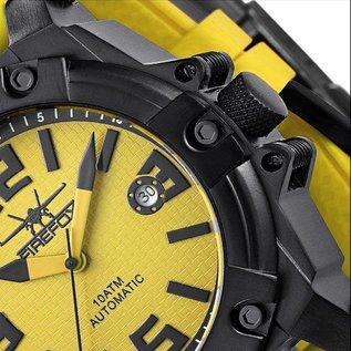 Firefox Watches  Men's Automatic Watch Orange Calibre 8205 | yellow