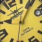 Firefox Watches  Automatik Sportuhr Herrenuhr Gelb Kaliber 8215