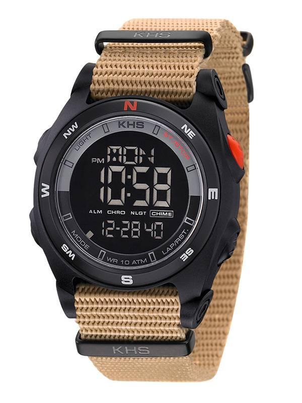 khs tactical watches sentinel dc digital alarm