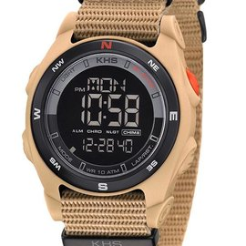 KHS Tactical Watches Sentinel DC TAN Nato Strap TAN