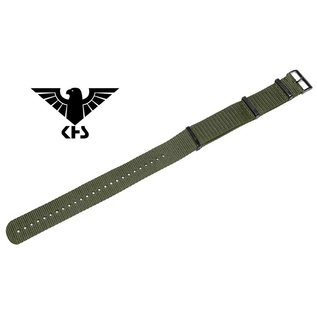 KHS Tactical Watches Nato Uhrenarmband Olive | IP beschichtet | KHS Bänder| 24 mm