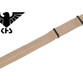 KHS Tactical Watches KHS Wristbands | KHS bands | nato strap TAN| IP coated | 24 mm