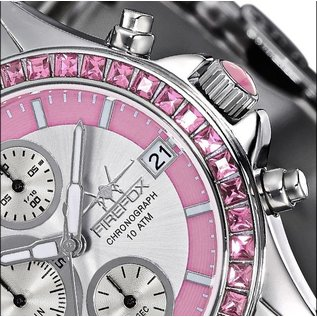 "Firefox Watches  Chronograph "" Pink Lady """