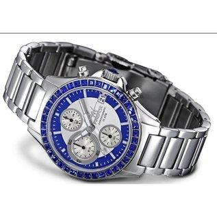 "Firefox Watches  Damen-Chronograph "" Blue Lady """