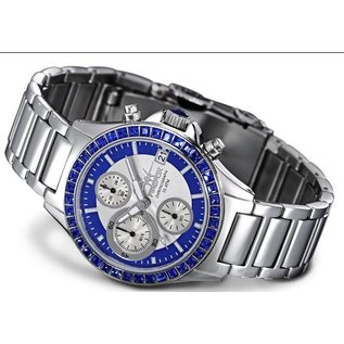 """Firefox Watches  Ladies Chronograph """" Blue Lady """""""