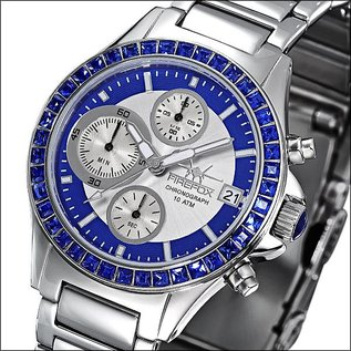 "Firefox Watches  Damen-Chronograph "" Blue Lady """