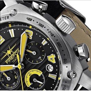 Firefox Watches  FIREFOX BATTLESHIP Men's Chronograph. Pilot Watch FFS22-108 yellow