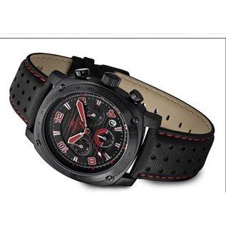 Firefox Watches  BATTLESHIP Men's Chronograph. Pilot Watch FFS22-105 red