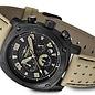 Firefox Watches  BATTLESHIP Herren Chronograph Fliegeruhr FFS22-110 Tan