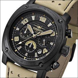 Firefox Watches  BATTLESHIP Men's Chronograph. Pilot Watch FFS22-110 tan