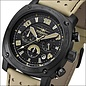 Firefox Watches  BATTLESHIP Herren Chronograph Fliegeruhr FFS22-110 Tan