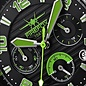 Firefox Watches  BATTLESHIP Men's Chronograph. Pilot Watch FFS22-115 green
