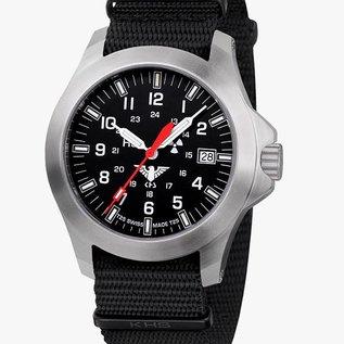 KHS Tactical Watches KHS Militäruhren H3 Platoon LDR | Natoband Black