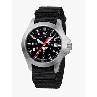 KHS Tactical Watches KHS Steel Platoon LDR | Nato strap black
