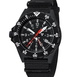 KHS Tactical Watches KHS Shooter GMT | Natoarmband Black