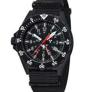 KHS Tactical Watches KHS Shooter GMT Natoarmband Black | KHS.SHG.NB |