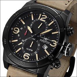 Firefox Watches  FIREFOX SOLDIER Chronograph schwarz/beige FFS255-110