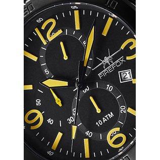Firefox Watches  FIREFOX SOLDIER Chronograph schwarz/gelb FFS255-106