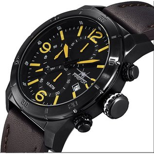 Firefox Watches  FIREFOX SOLDIER Chronograph black / yellow FFS255-106