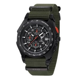 KHS Tactical Watches KHS Sentinel AC Chronograph | Nato Strap Olive