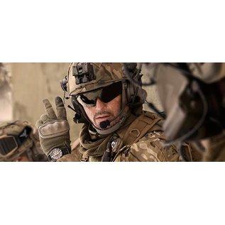 KHS Tactical Optics Gleitschirmbrille KHS taktische Schuzbrille Basic Grey