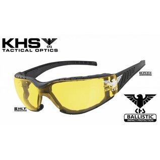 KHS Tactical Optics Taktische Sonnenbrille mit Polster Basic Yellow
