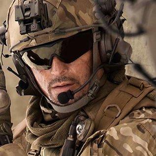 KHS Tactical Optics Taktische Sonnenbrille Basic Grey mit Polster