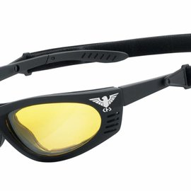 KHS Tactical Optics KHS Taktische Einsatzbrille mit Polster Ready for Mission KHS-101-x Yellow
