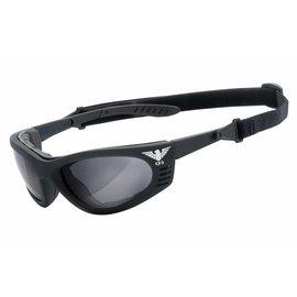 KHS Tactical Optics Grey Tactical goggles with padding KHS-101-a