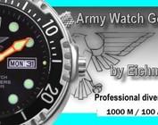 Army Watch Taucheruhren