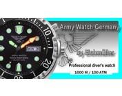 Army Watch diver watch from Eichmüller