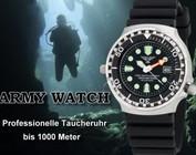 Armywatch Taucheruhren 1000 Meter