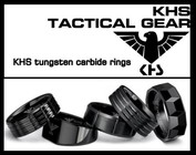 KHS tungsten carbide rings: