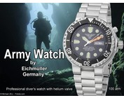 Army Watch diver watch from Eichmüller