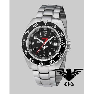 KHS Tactical Watches KHS Military Watch Enforcer Steel | stainless steel bracelet