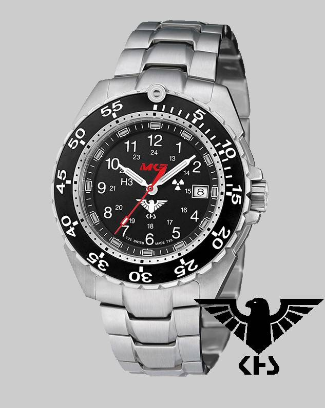 Khs Tactical Watches Enforcer Steel Mk3 Stainless Steel