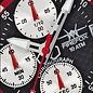 Firefox Watches  ZION Chronograph schwarz/rot Edelstahl Herrenuhr