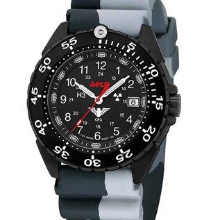 KHS Tactical Watches KHS Watch Enforcer Black Steel MK3 | Camouflage diver bracelet - Copy