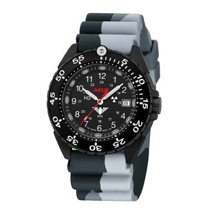 KHS Tactical Watches KHS Watch Enforcer Black Steel MK3 | Camouflage diver bracelet - Copy